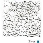 silver پارتیشن نقره ای طرح گل
